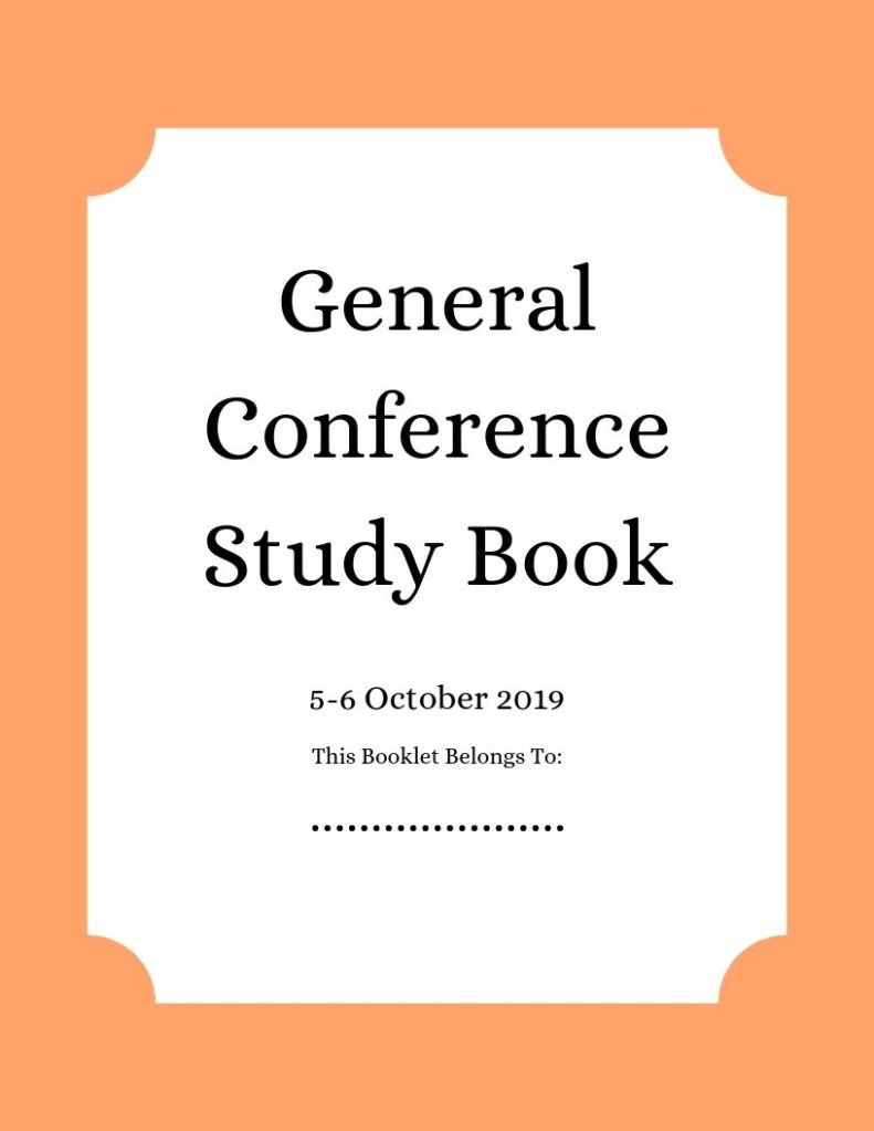 Cover Image for General Conference Study Book