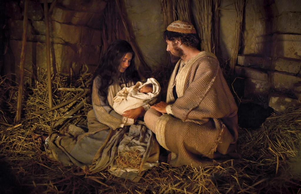 Mary and Joseph with the Baby Jesus
