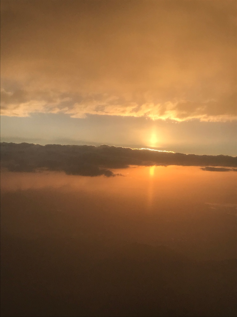 Sun Below the Clouds