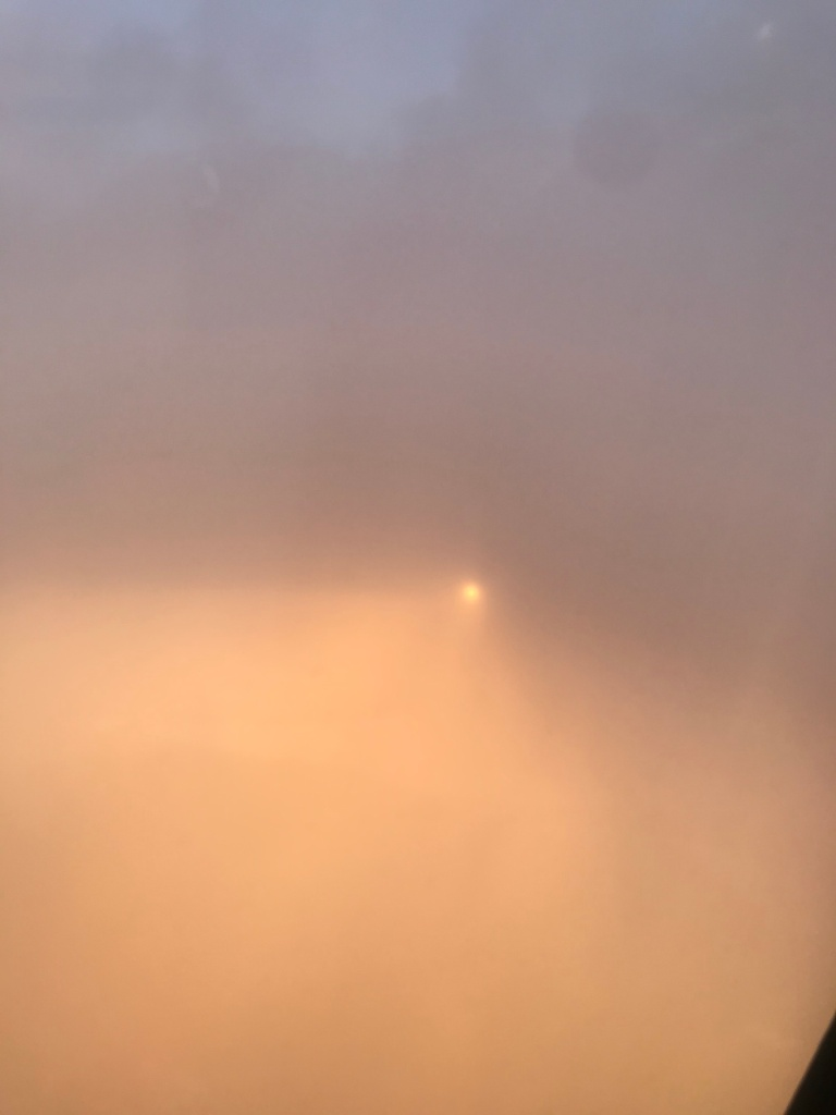 Sun Hidden Behind Clouds