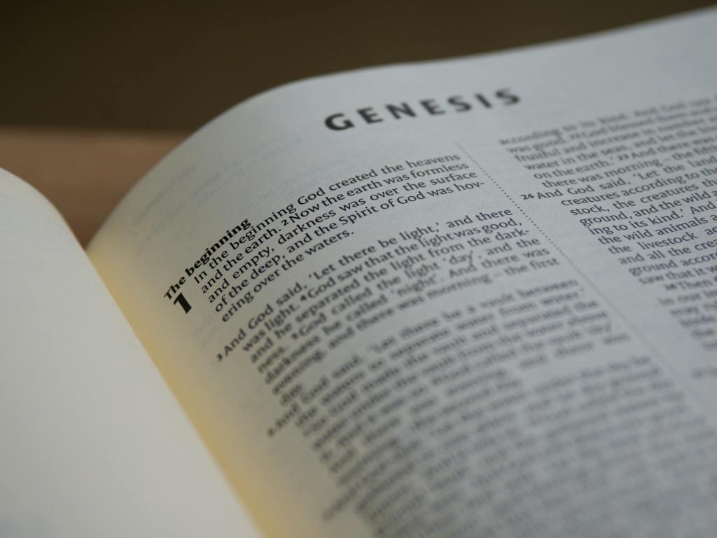 Scriptures Open to Genesis
